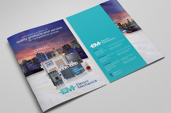 Разработка дизайна каталога и брошюры