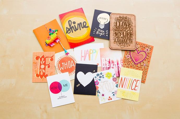 Разработка дизайна поздравительной открытки