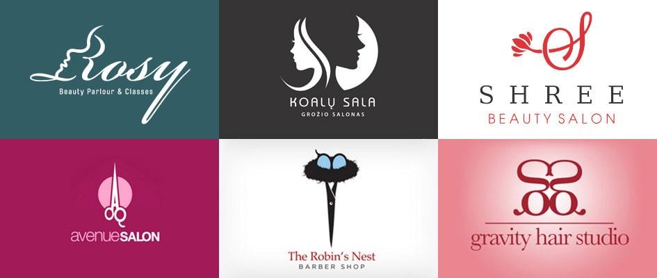 Разработка логотипа для салона красоты и фирменного стиля для парикмахерской