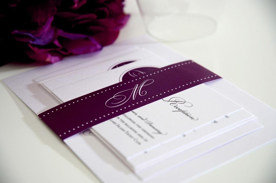Разработка дизайна приглашений на свадьбу - фото 5