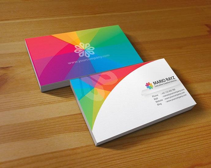Заказать дизайн визитки