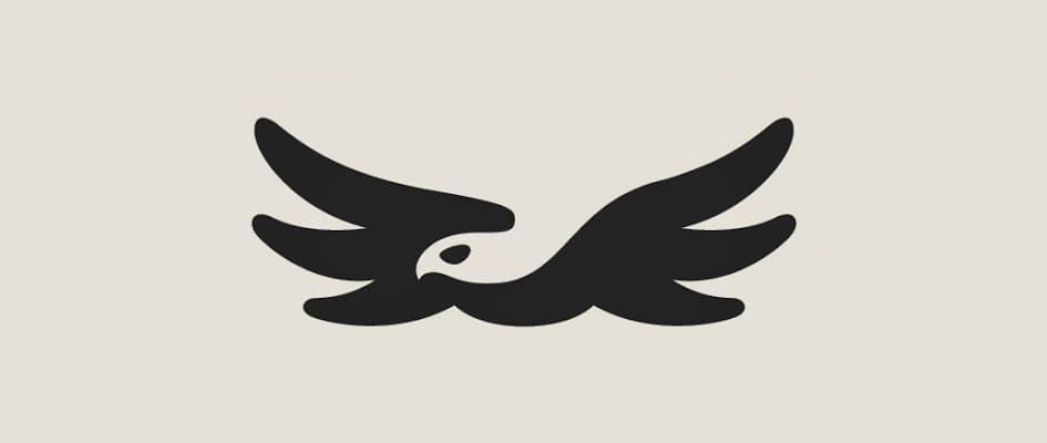 Тенденции в дизайне логотипов 2016 - негативное пространство