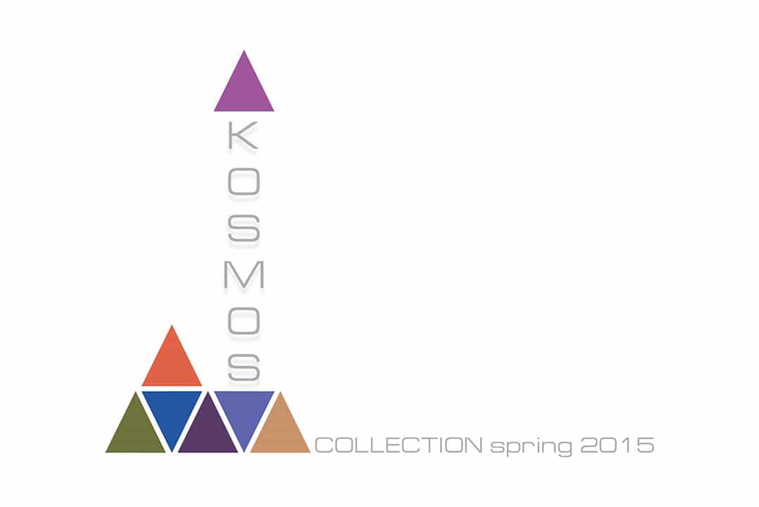 Разработка логотипа для коллекции дизайнерской одежды - KOSMOS.