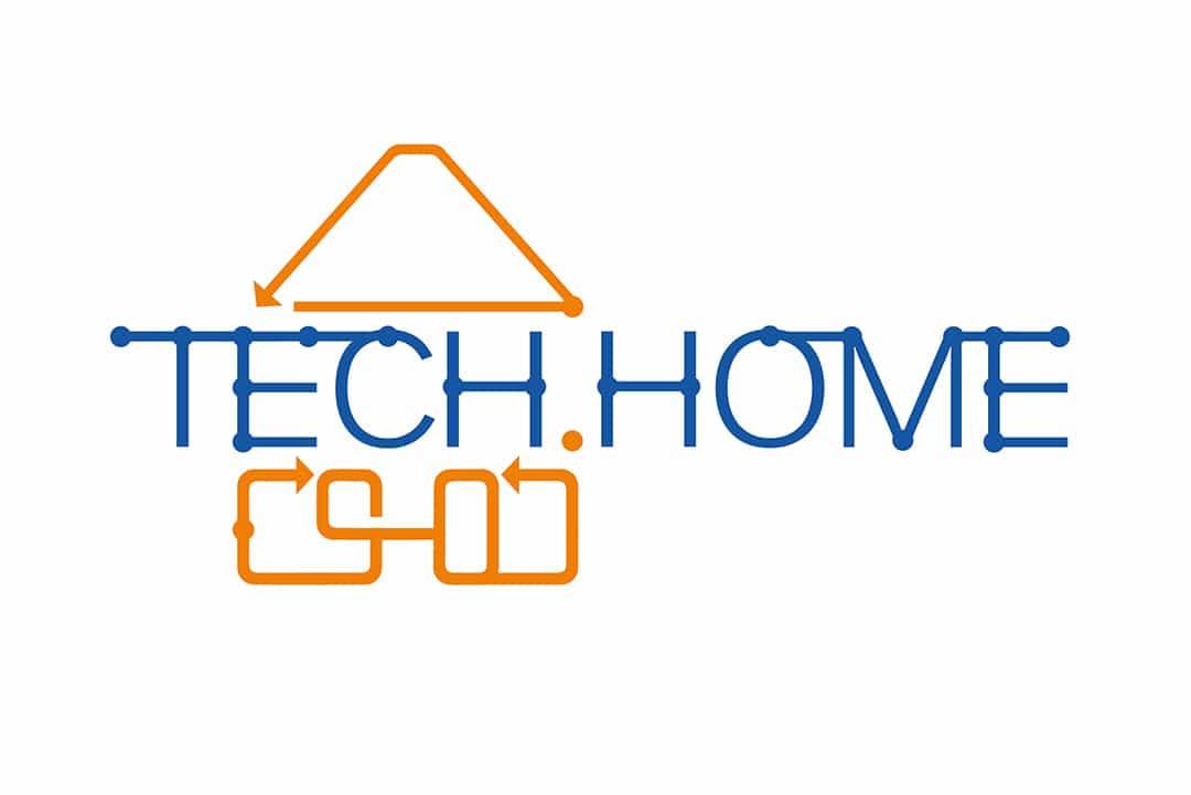 Логотип для компании TECH HOME