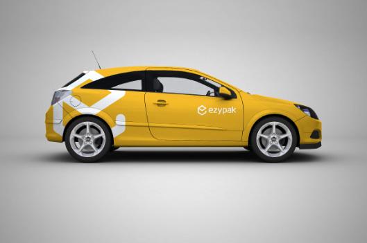 Изготовление рекламы на автомобиль, разработка дизайна оклейки авто