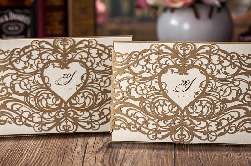Разработка дизайна приглашений на свадьбу - фото 1