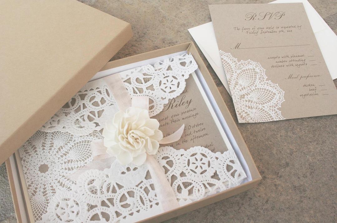 Разработка дизайна приглашений на свадьбу - фото 4