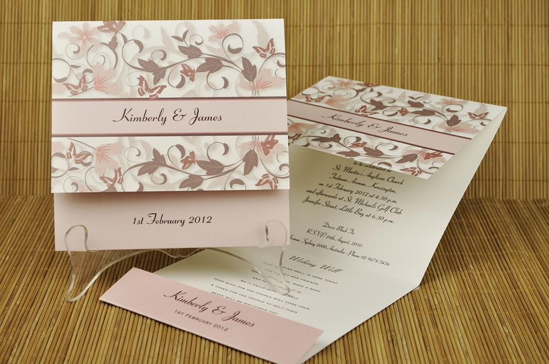 Разработка дизайна приглашений на свадьбу - фото 6