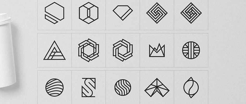 Как сделать красивый логотип самому - выбор формы