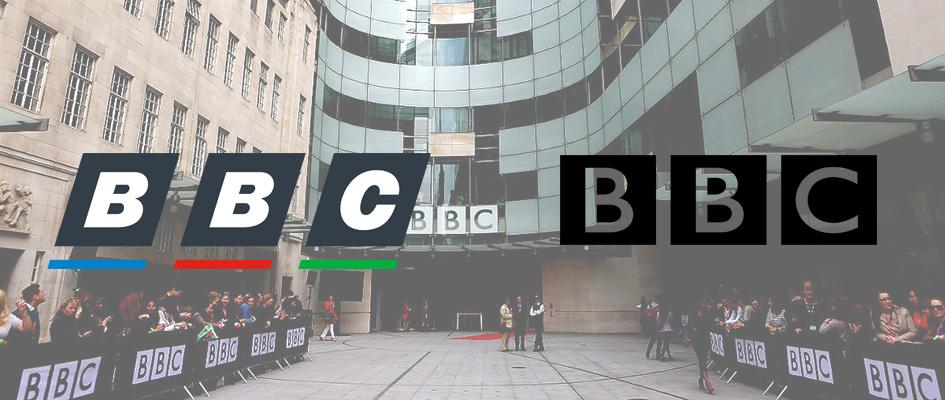 Ошибка в логотипе BBC, неудачный и плохой логотип