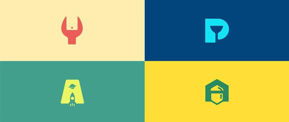 Тренд в дизайне логотипов #4: Негативное пространство