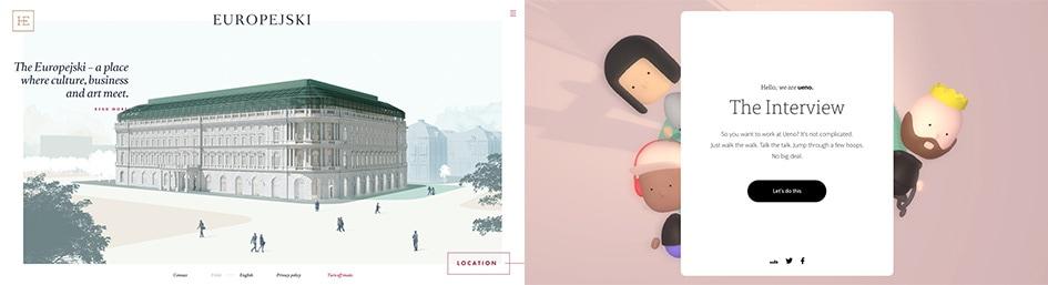 Тренд веб-дизайна #2: Трехмерная анимация
