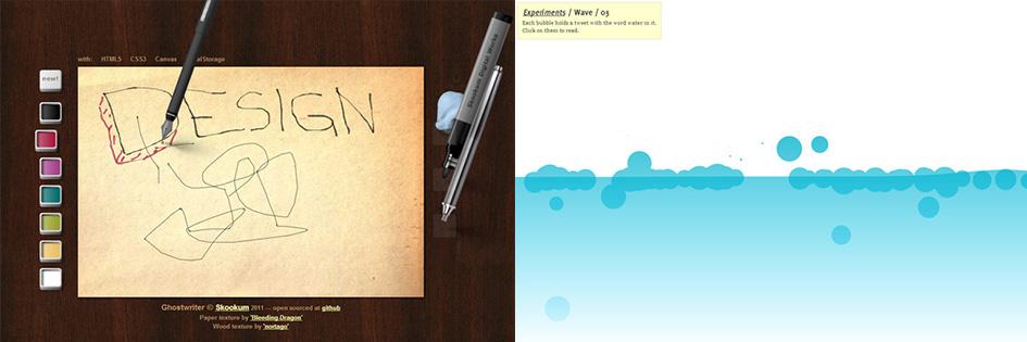 Тренд веб-дизайна #6: Canvas