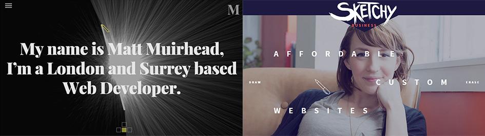 Тренд веб-дизайна #5: Видоизмененный курсор