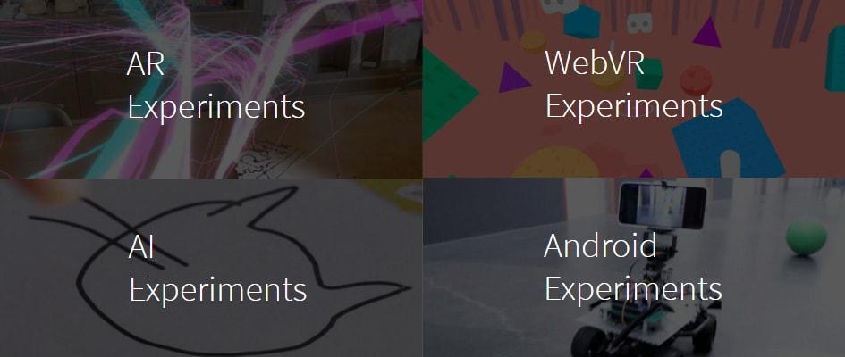 Тренд веб-дизайна #8: Google experiments
