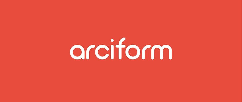 Шрифт Arciform