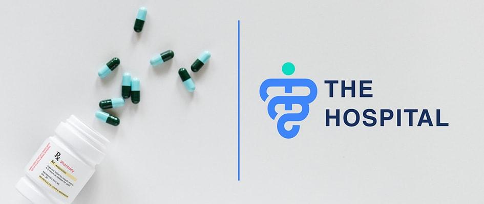Шрифт и цвета логотипа медицинского центра