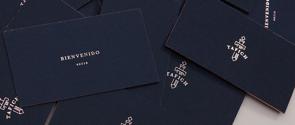 Параметры и свойства визиток