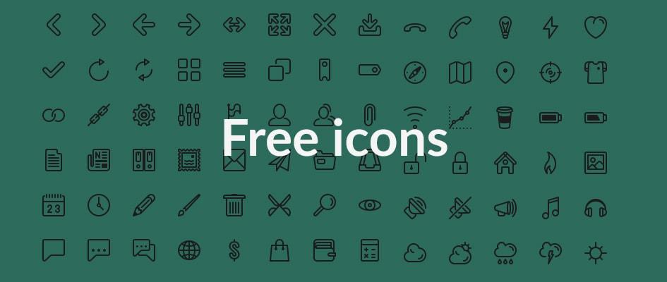 Бесплатные сервисы иконок для вашего сайта