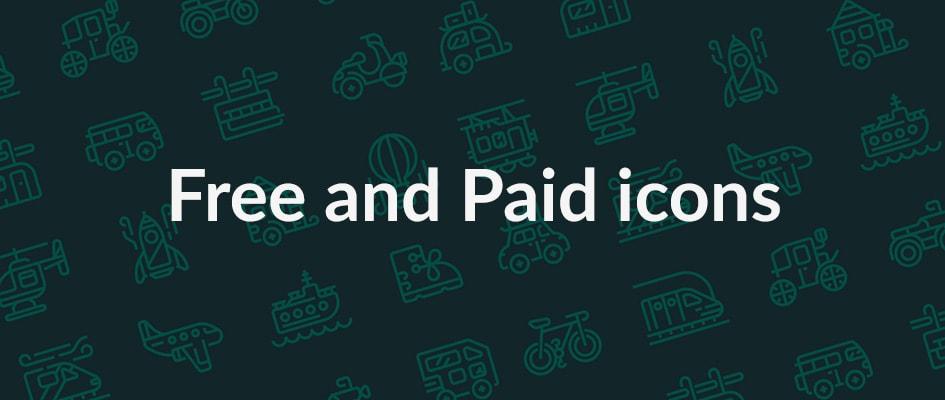 Бесплатно-платные сервисы или условно бесплатные сервисы иконок для сайта