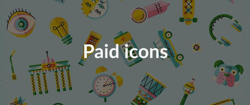 Платные сервисы по поиску иконок для сайта